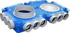 Uniflexplus+ flexibel luchtverdeelsysteem Kunststof kanalen voor ventilatie