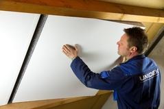 Unidek Reno Fast Na-isolatie tegen bestaand dakbeschot