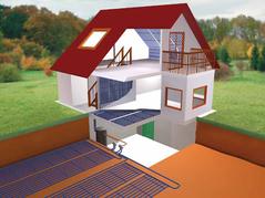 BioClina capillaire klimaatmattensysteem Milieuvriendelijk verwarmen en koelen met één systeem