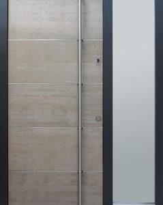 Passiefhuisdeur concrete T3