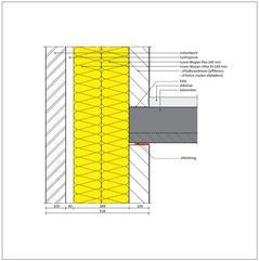 Isover Mupan Ultra XS Vormvaste glaswol spouwplaat
