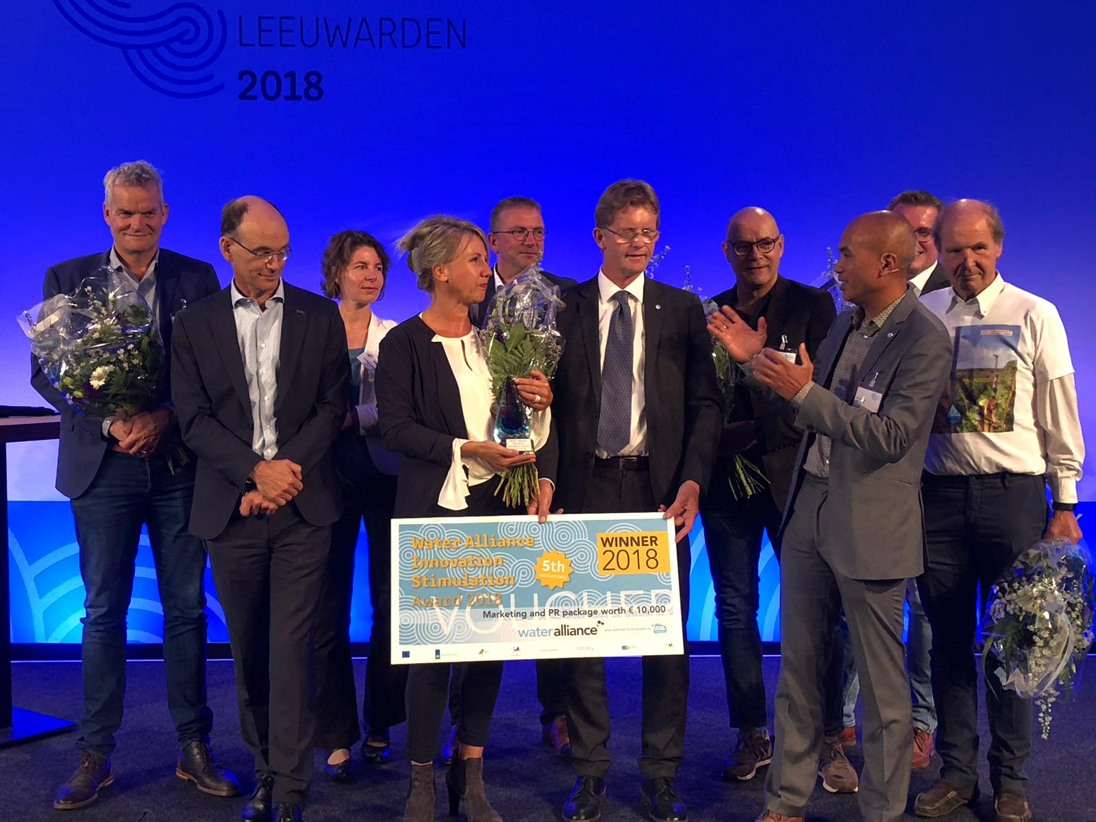 Water Alliance Innovation Stimulation (WIS) Award 2018