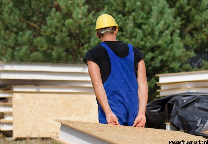 Vervoer houtskeletbouw wand