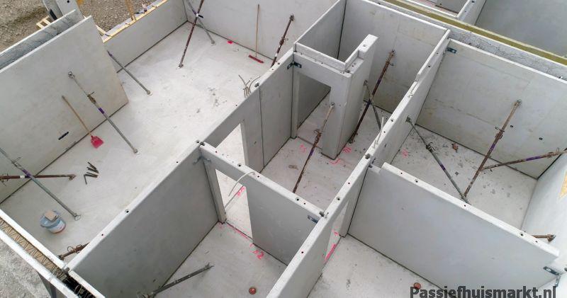 Prefab beton woning